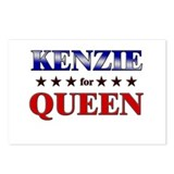 KENZIE for queen Postcards (Package of 8)