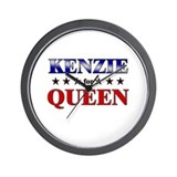 KENZIE for queen Wall Clock