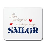 Funny Military love Mousepad