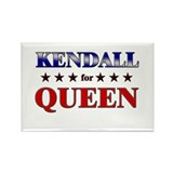 KENDALL for queen Rectangle Magnet