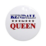 KENDALL for queen Ornament (Round)