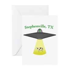 Stephenville UFO Greeting Card
