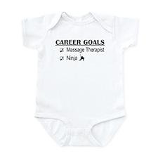 Massage Therapist Career Goals Infant Bodysuit