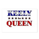 KEELY for queen Postcards (Package of 8)