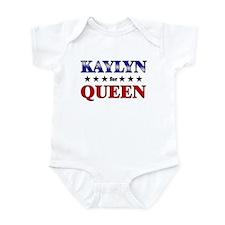 KAYLYN for queen Infant Bodysuit