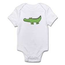 """allie gator"" Infant Bodysuit"