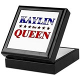 KAYLIN for queen Keepsake Box