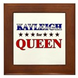 KAYLEIGH for queen Framed Tile