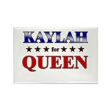 KAYLAH for queen Rectangle Magnet