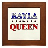 KAYLA for queen Framed Tile
