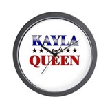 KAYLA for queen Wall Clock