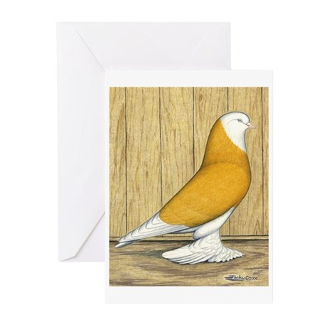 Yellow Bald West Greeting Cards (Pk of 10)