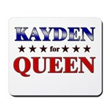 KAYDEN for queen Mousepad