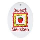 Sweet Kiersten Oval Ornament