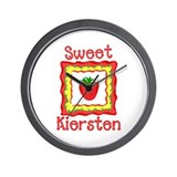 Sweet Kiersten Wall Clock