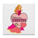 Princess Kiersten Tile Coaster