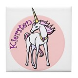 Kiersten Unicorn Tile Coaster