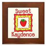 Sweet Kaydence Framed Tile