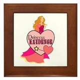 Princess Kaydence Framed Tile