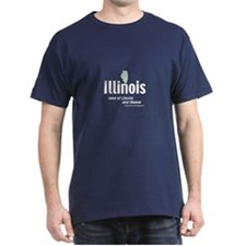 illinois land of Lincoln and  T-Shirt