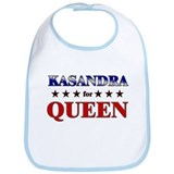 KASANDRA for queen Bib