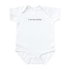 I can stop smoking (mirror) Infant Bodysuit