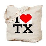 I Love Texas - Tote Bag
