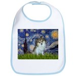 Starry Night /Pomeranian (p) Bib