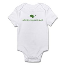 Adversity tempers the spirit  Infant Bodysuit