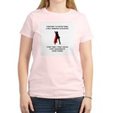 Superheroine Accountant T-Shirt
