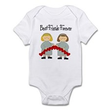 BFF Hearts-Best Friends Infant Bodysuit