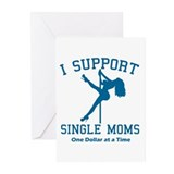 Single Moms Greeting Cards (Pk of 10)