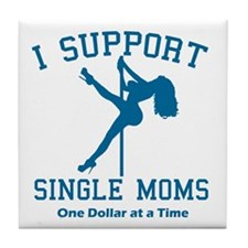 Single Moms Tile Coaster