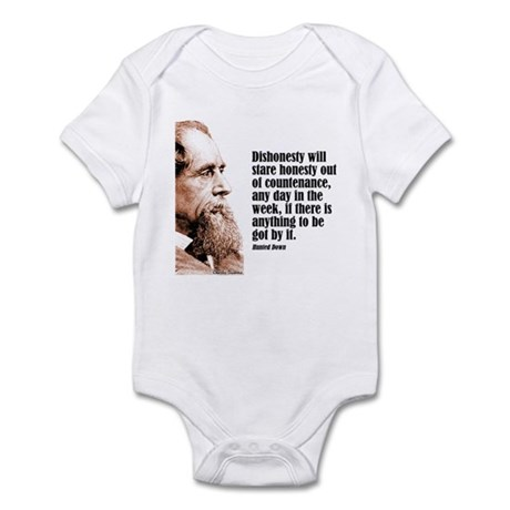 "Dickens ""Dishonesty"" Infant Bodysuit"