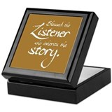 Blessed Is the Listener Keepsake Box
