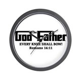 God The Father Wall Clock