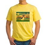 Guardian /Rat Terrier Yellow T-Shirt