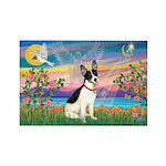 Guardian /Rat Terrier Rectangle Magnet (10 pack)