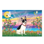 Guardian /Rat Terrier Postcards (Package of 8)