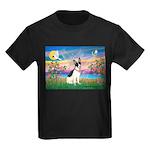 Guardian /Rat Terrier Kids Dark T-Shirt