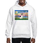 Guardian /Rat Terrier Hooded Sweatshirt