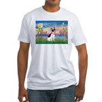 Guardian /Rat Terrier Fitted T-Shirt