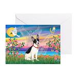 Guardian /Rat Terrier Greeting Cards (Pk of 10)