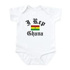 I rep Ghana Infant Bodysuit