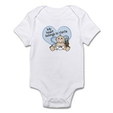 My Heart Belongs to YiaYia BO Infant Bodysuit