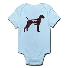 BFF Vizsla Infant Bodysuit