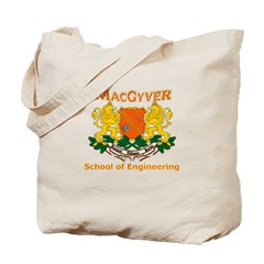 MacGyver Engineering Tote Bag