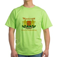 MacGyver Engineering Green T-Shirt