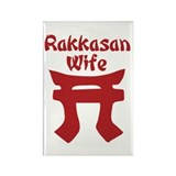 Rakkasan Wife Rectangle Magnet (10 pack)