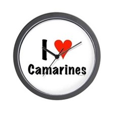 I love Camarines Wall Clock